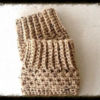 Crochet Boot Cuff Leg Warmers Boot Toppers Trendy